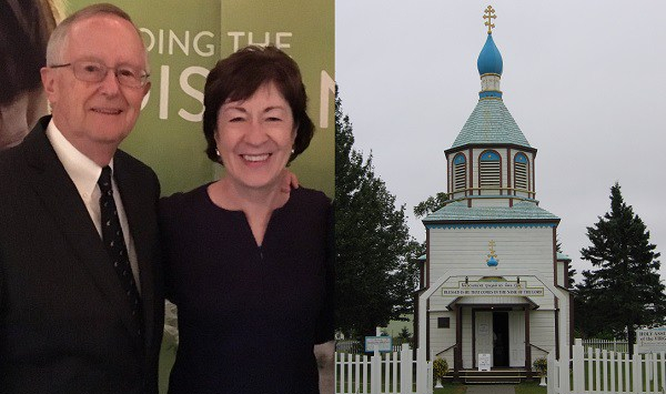 Susan Collins, Thomas Daffron, Holy Assumption of the Virgin Mary Russian Orthodox Church
